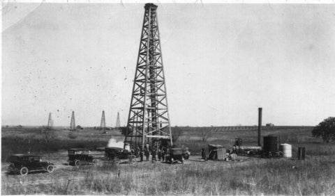 1919 Atascosa County - 1st Well drilled with their own drilling rig
