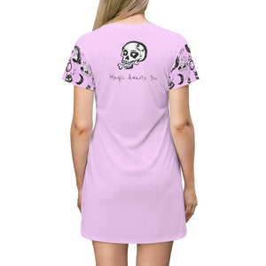 Pretty in Punk T-Shirt Dress