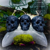 Occultish Skull Candle