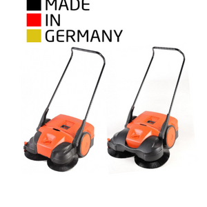 Push Sweepers | Parking-Lot-Warehouse Sweeper