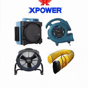 Floor Blowers | Air Movers | Axial Fans | Air Scrubbers