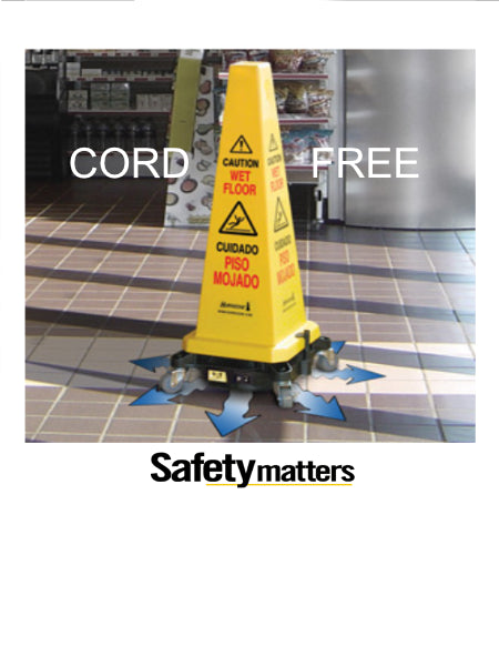 HURRICONE® Cordless Floor Dryer Safety Cone