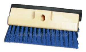 10 inch Deck Scrub Brush with Squeegee Blade | 5 Pack