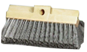 10 inch Wash Brush | Medium Soft Gray Styrene Bristles