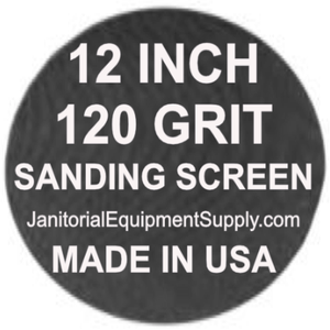 12 inch 120 Grit Sanding Screen Disc 5pk