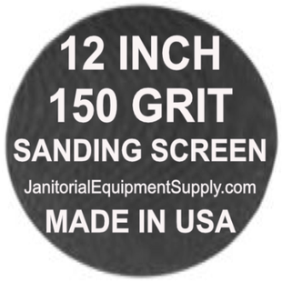 12 inch 150 Grit Sanding Screen Disc 5pk