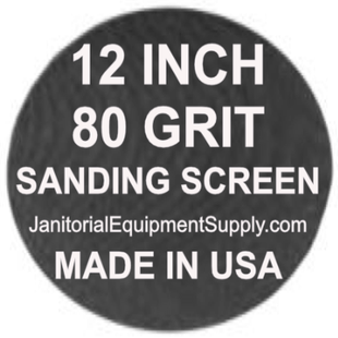 12 inch 80 Grit Sanding Screen Disc 5pk