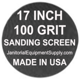17 inch 100 Grit Sanding Screen Disc 5pk
