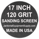 17 inch 120 Grit Sanding Screen Disc 5pk