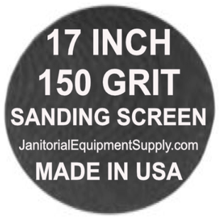 17 inch 150 Grit Sanding Screen Disc 5pk