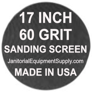 17 inch 60 Grit Sanding Screen Disc 5pk
