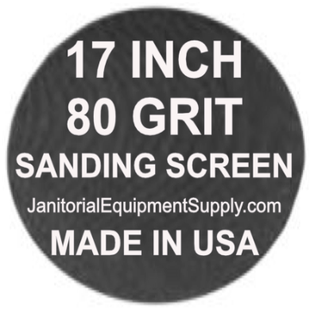 17 inch 80 Grit Sanding Screen Disc 5pk