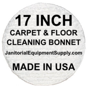 17 inch Floor Machine Cleaning Bonnet | Carpet Bonnet