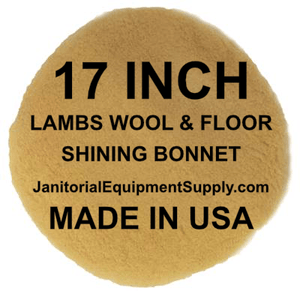 BISSELL® Lo-Boy 17 inch Lambs Wool Floor Shining Bonnet
