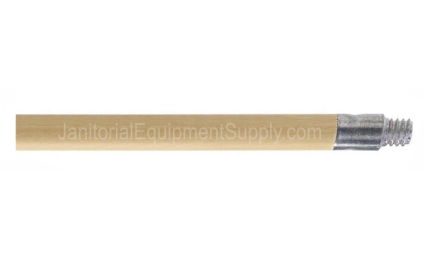 5 Ft Heavy Duty Wood Handle With Metal Acme Thread Tip