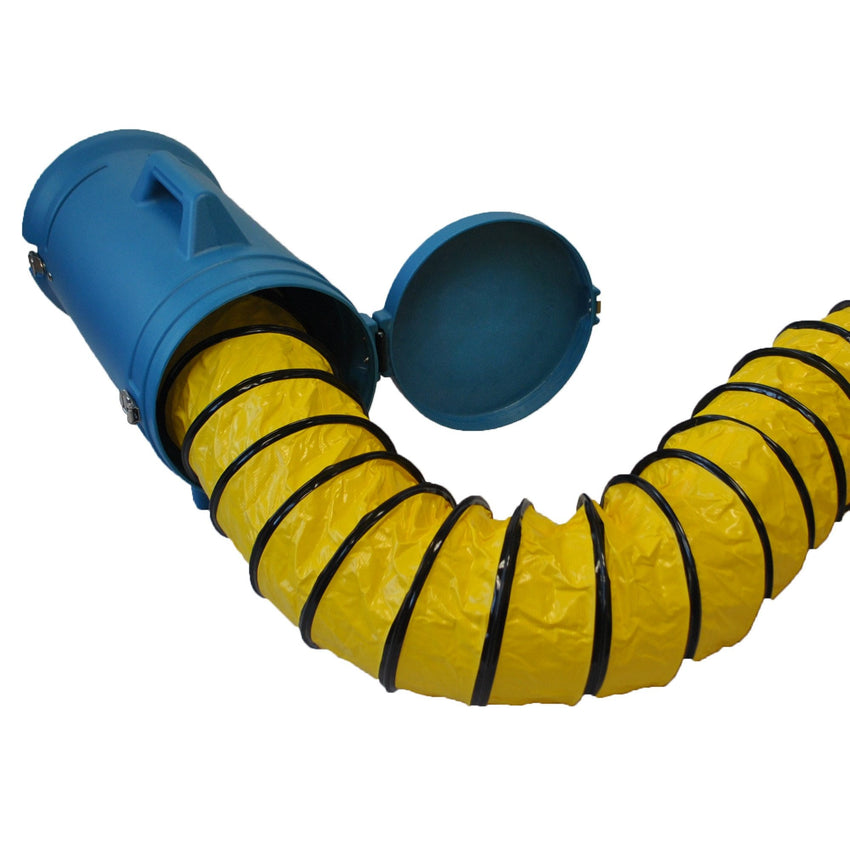 XPOWER® 8DHC25 | 25 ft 8 inch Ventilation Duct Hose Carrier X-8