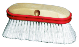 9 inch Vehicle Wash Brush Extra Soft with Rubber Bumper