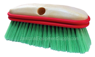 9 inch Vehicle Wash Brush Soft with Rubber Bumper