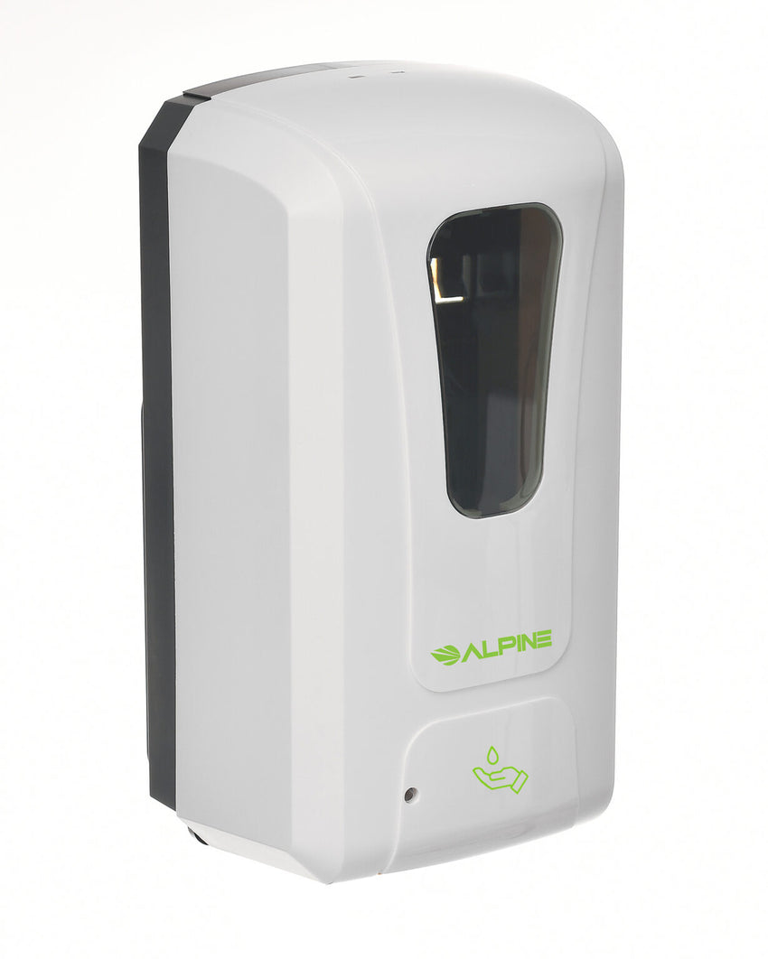 ALPINE Automatic Hands-Free Liquid Gel / Soap Hand Sanitizer Dispenser