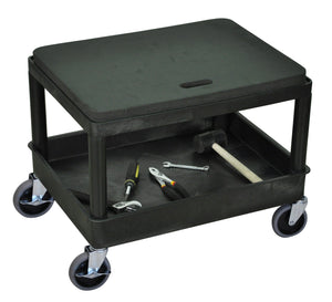 Automotive Cart with Removable Seat Cushion
