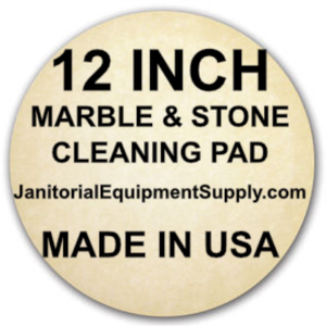 12 inch Marble Stone Cleaning Pad | 5 Pack