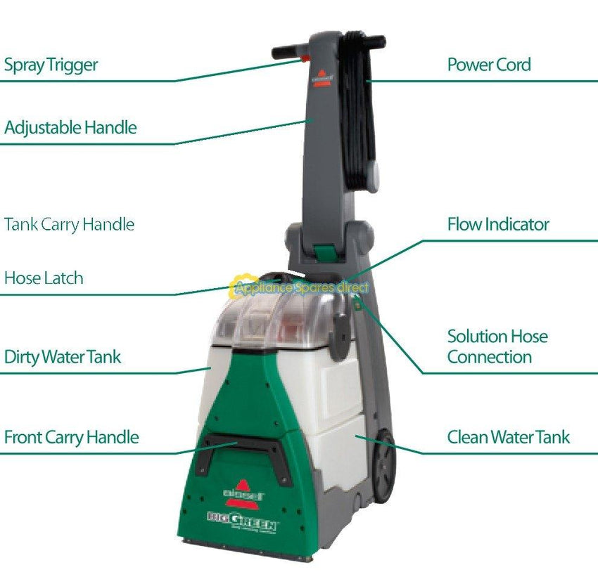BISSELL® BG10 BigGreen Commercial Carpet Cleaner Machine