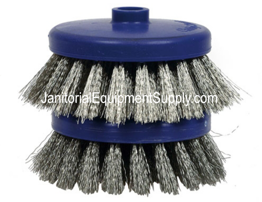 "CaddyClean® 4"" Stainless Steel Brushes"