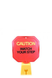 HURRICONE®  Safety Cone Warning Sign CWFS436