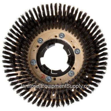 "EDIC® 13"" Floor Machine Nylon Shampoo Brush"