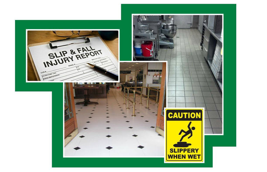 Over 300,000 Disabling Slip & Fall Injuries Last Year in North America