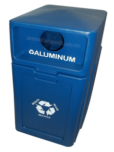 FORTE® 8001952 | Blue 42 Gallon Aluminum Recycle