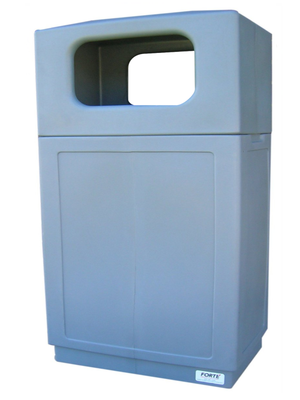 FORTE® 8001996 | Grey 39 Gallon Trash Can