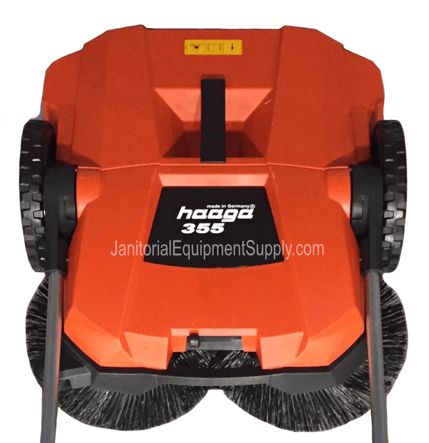 HAAGA 355  SWEEPER ISWEEP CLOSE-UP VIEW
