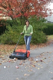 "HAAGA® 475 Sweeper Outdoor / Indoor 30"" Push Sweeper"