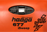 HAAGA 677 MIDDLE BRUSH IS FOR PICKING FINE DUST AND SAND