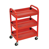 LUXOR ATC332 Automotive Cart with 3 Adjustable Shelves