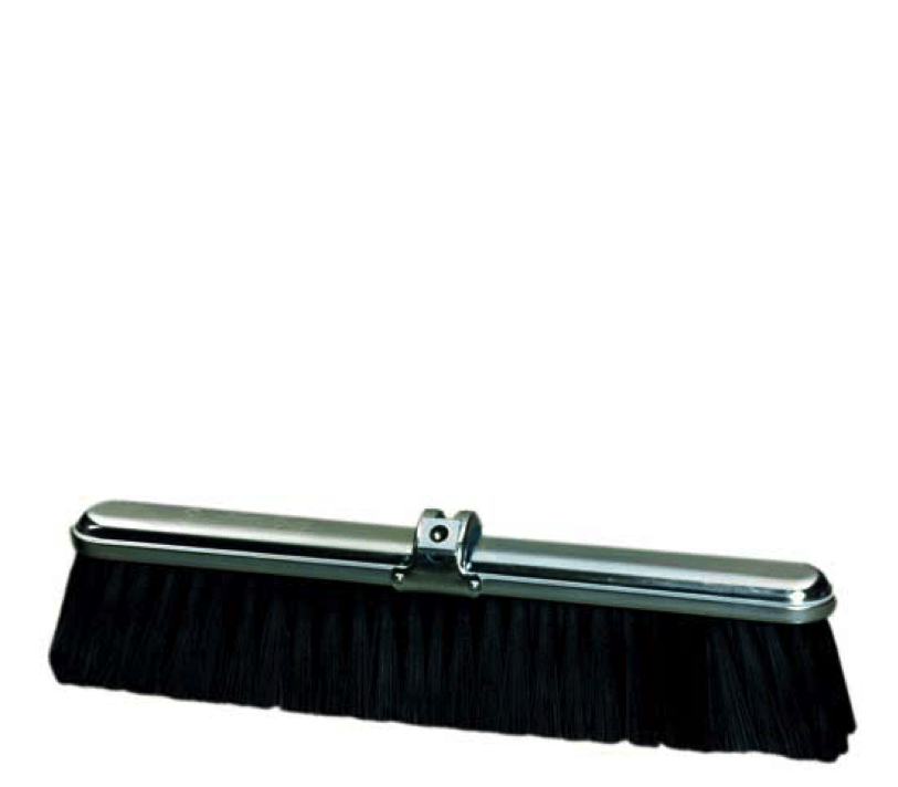 "24"" Medium Duty Stiff Center - Fine Boarder Broom Head"
