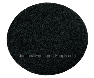 Motor Scrubber 8 inch Black Stripping Pad