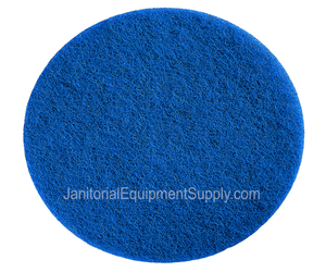 Motor Scrubber 8 inch Blue Cleaning Pad