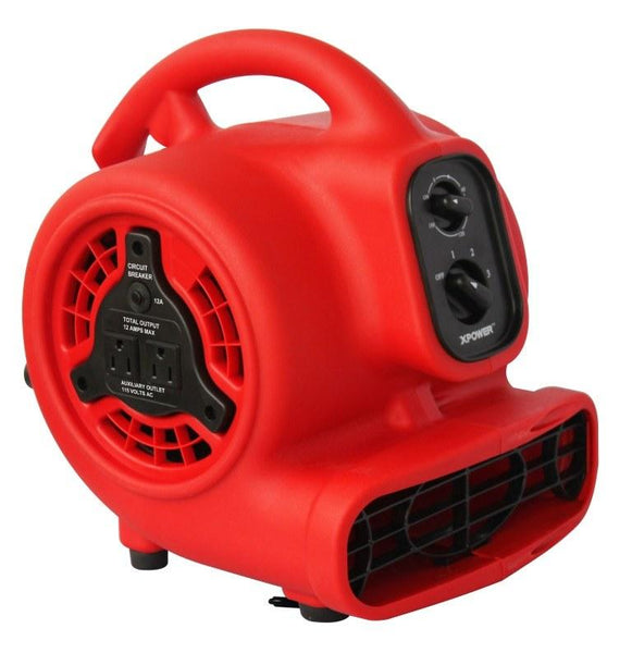 Xpower 174 P 200at Mini Air Mover 1 8 Hp 3 Speeds With 3hr