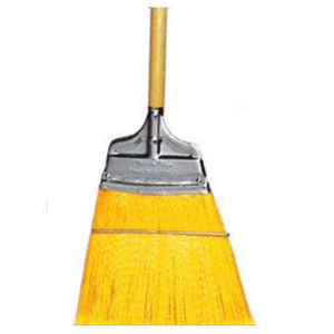SPEEDY CORN® Commercial Broom | Stiff Polypropylene Bristles