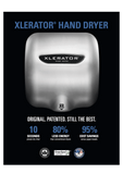 XLERATOR® XL-SB Stainless Steel Automatic Hand Dryer