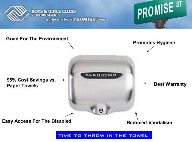 XLERATOR® Hand Dryer Advantages