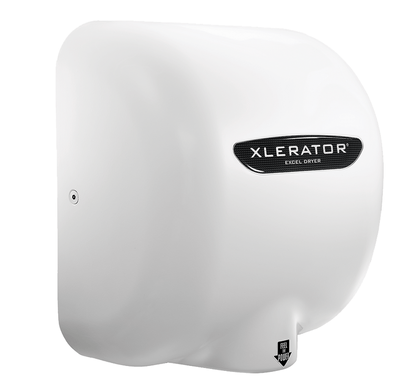 XLERATOR® XL-W Automatic Hand Dryer left side-view