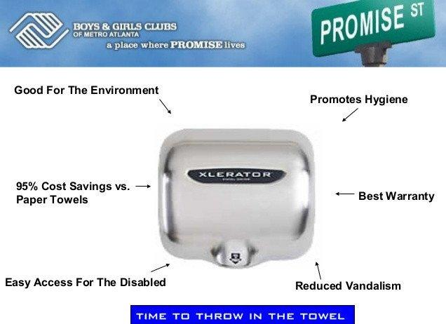 Hand Dryer Advantages