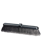 18 inch Fine Duty Grey Flagged Push Broom Brush