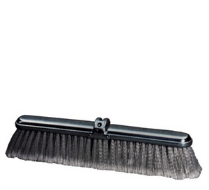 24 inch Fine Duty Grey Flagged Push Broom Brush