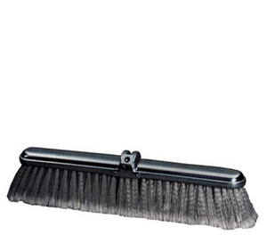 30 inch Fine Duty Grey Flagged Push Broom Brush