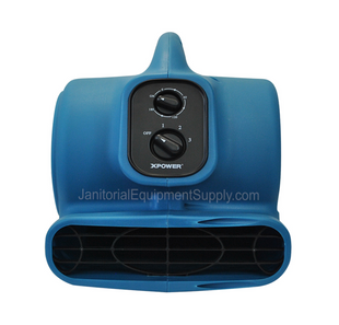 XPOWER® P-260NT | Mini Air Mover 1/5 HP with Scent Cartridge
