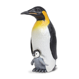 267129-Emperor Penguin with Baby